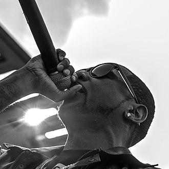 Fabolous - Fabolous performing in 2012.