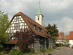 Fachwerkhaus in Warmbronn geo.hlipp.de 6942