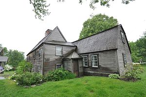Dedham Historical Society and Museum - Image: Fairbanks House 2013