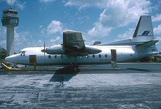Wien Air Alaska Flight 99 - Fairchild F-27 aircraft