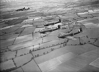 RAF Benson - Fairey Battles of No 1.2 Operational Training Unit (OTU) based at RAF Benson during July 1940
