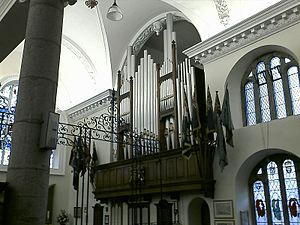 Church of King Charles the Martyr, Falmouth - The Organ