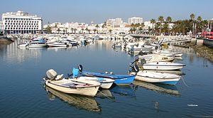 Am Hafen von Faro