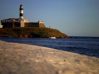 Barra (neighborhood) - Farol da Barra Lighthouse.