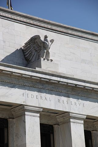 Fed Reserve Building Front, Washington