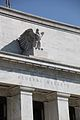 Federal Reserve Building - eagle and pediment - 2012-09-13.jpg