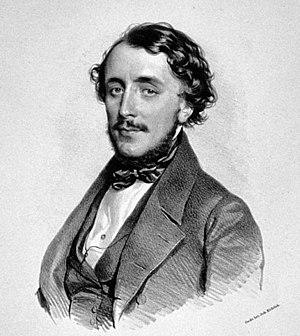Felice Varesi - Felice Varesi, lithograph by Josef Kriehuber, 1843