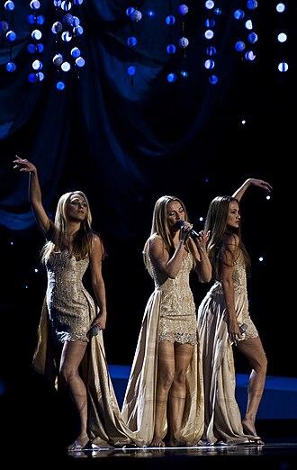 Croatia in the Eurovision Song Contest - Image: Feminnem Lako je sve (2nd Semi final)