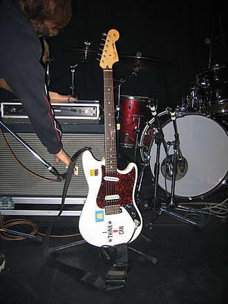 Fender Cyclone - Image: Fender Cyclone USA Sawao's guitar