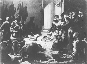 Feodor Dietz - King Gustav Adolf on his Deathbed