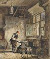 Ferdinand II de Braekeleer Schmied in der Werkstatt.jpg