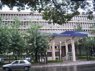 Federal University of Health Sciences of Porto Alegre - The University's building