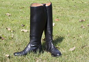 Riding boot - Black English riding field boots