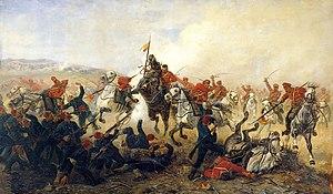 Benjamin Disraeli - Fight in Bulgaria during the Russo-Turkish War of 1877–78