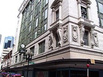 Filene's Department Store - Image: Filenes Department Store Boston