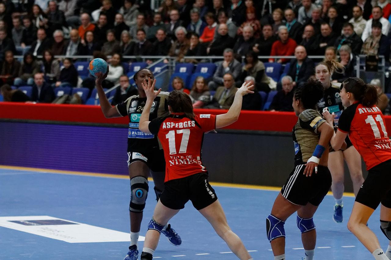 File finale de la coupe de ligue f minine de handball 2013 - Coupe d europe de handball ...