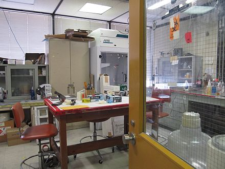 A city fingerprint identification room. Fingerprint Identification Room.JPG