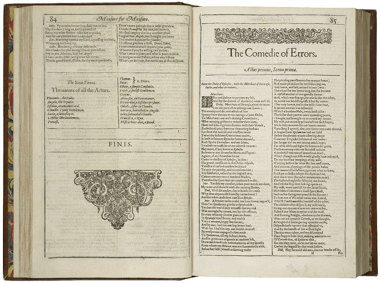 a description of shakespeares first comedy the comedy of errors Comedy is a literary genre and a type of dramatic work that is amusing  ben johnson is the first dramatist who conceived and popularized this dramatic genre during.