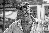 Fishmonger smiling, Maracaibo street market, Venezuela.jpg