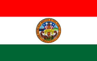 Sorrento Valley, San Diego - Image: Flag of San Diego County, California