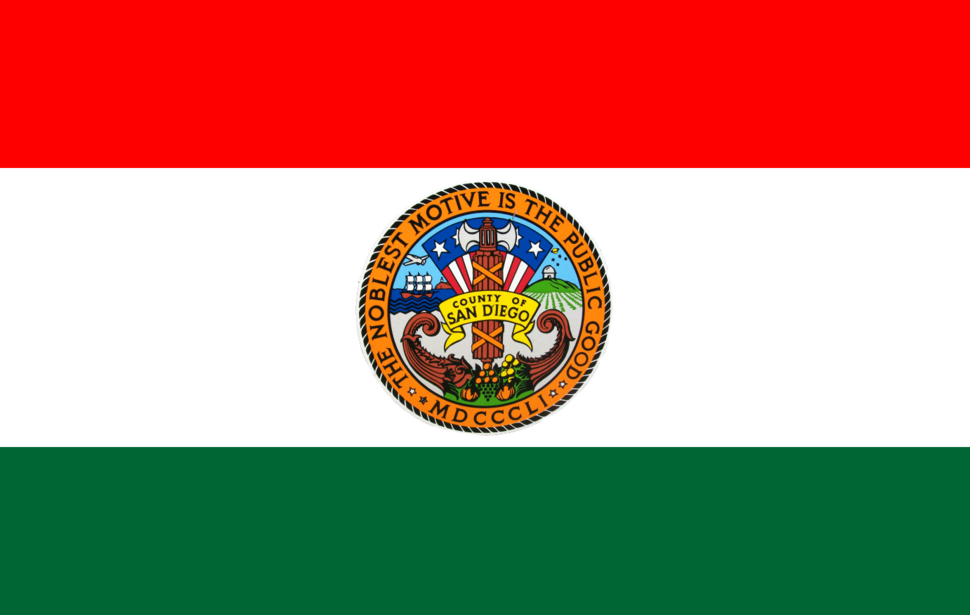 Flag of San Diego County