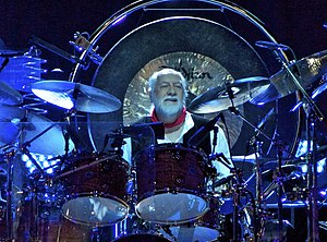 Mick Fleetwood - Fleetwood drumming in 2013