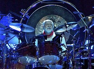 Mick Fleetwood - Fleetwood drumming in 2013