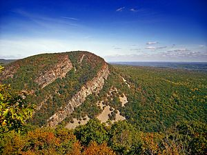 Hardwick Township, New Jersey - Mount Tammany in Hardwick and Knowlton Townships