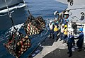Flickr - Official U.S. Navy Imagery - Sailors receive boxes of mail from the Military Sealift Command..jpg