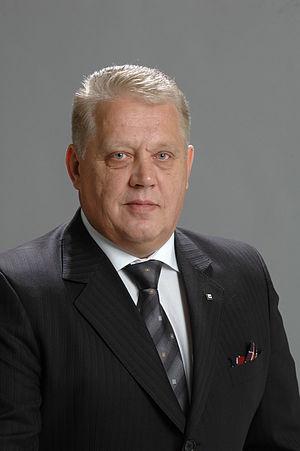 Andris Bērziņš (Latvian Prime Minister) - Image: Flickr Saeima 9.Saeimas deputāts Andris Bērziņš (LPP LC)