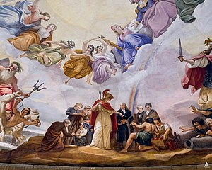 The Apotheosis of Washington - Image: Flickr US Capitol Apotheosis of Washington, Science