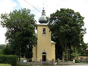 Florynka - Roman Catholic church (formerly Greek Catholic)