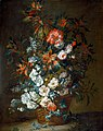 Flowers in a Basket by Jean Baptiste Monnoyer, oil on canvas, c. 1695, High Museum of Art.jpg