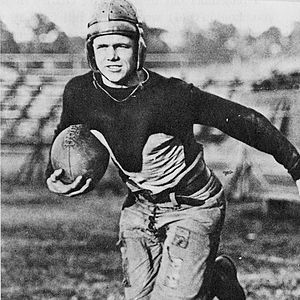 1920 Vanderbilt Commodores football team - Georgia Tech captain Buck Flowers (pictured).