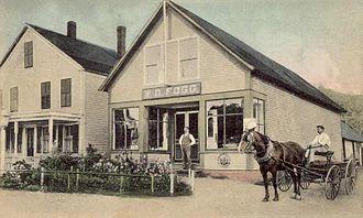 Hancock, New Hampshire - W. D. Fogg's Store c. 1906