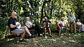Folk musicians at Copsale Hall, Nuthurst, West Sussex, England 03.jpg