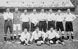 Instanténeas del combinado amateur de ingleses que representó al Reino Unido en los Juegos Olímpicos de 1908 y Juegos Olímpicos de 1912.