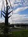 Footbridge over Riverside Road - geograph.org.uk - 487492.jpg