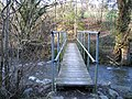 Footbridge over the River Alyn-Afon Alun - geograph.org.uk - 313435.jpg