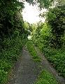 Footpath - Bramham Road, Clifford - geograph.org.uk - 949878.jpg