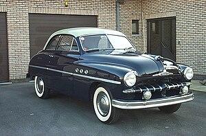 Ford Vedette - Image: Ford Vedette Coupé 1950