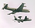 Formation of No 51 Squadron Nimrod R1 and Sentry AEW1 of No 8-23 Squadron.10-04-2000 MOD 45137400.jpg