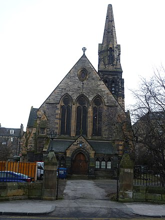 Constitution Street - Image: Former St. James Episcopal Church, Constitution Street Leith