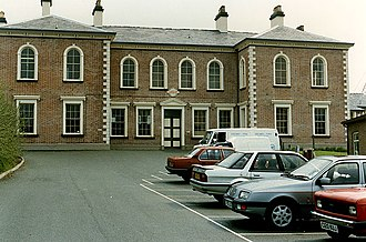 Llanidloes and Newtown Railway - Llanidloes Station in 1990
