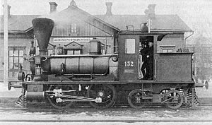 0-4-4T - This Forney locomotive was made by SLM, Winterthur, Switzerland in 1886, and it was used on the Finnish State Railways in 1886-1932.