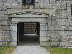 Fort Knox (Maine) - Image: Fort Knox Entrance
