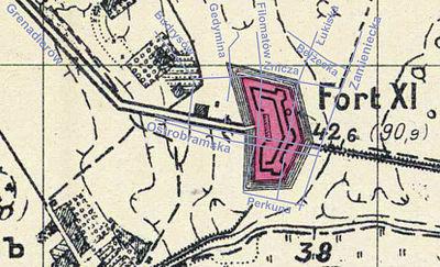 Fort Xi Twierdzy Warszawa Wikipedia Wolna Encyklopedia