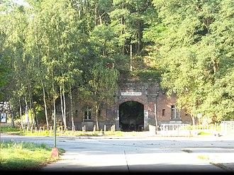 Zwijndrecht, Belgium - Fort of Kruibeke in Burcht, built in 1870 as part of the national redoubt of Belgium.