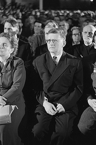 Dmitri Shostakovich - Shostakovich in 1950
