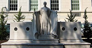Daughters of the American Revolution - The Founders of the Daughters of the American Revolution sculpture honors the four founders of the DAR.